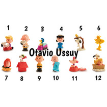Personagens Da Coleção Snoopy Mc Donalds