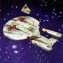 Star Trek Nave Uss Enterprise Ncc 1701-d Battle Damaged