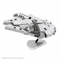 Mini Réplica De Montar Star Wars Millenium Falcon Metalearth