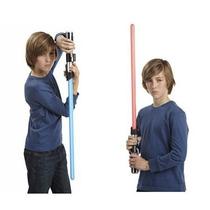 Star Wars Sabre Luz Eletrônico 2 Em 1 Anakin To Darth Vader