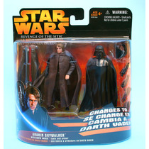 Star Wars Anakin Skywalker Changes To Darth Vader - Hasbro