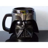Caneca Star Wars Darth Vader Porta Copo Porta Lápis Caneta