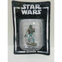 Miniatura Star Wars Greedo Planeta Agostini Chumbo Leia