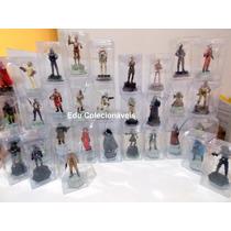 Coleção Star Wars Xadrez Figuras Chumbo Oficial Metal
