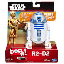 Jogo Bop It Star Wars R2 D2 Eletrônico Hasbro Em Português