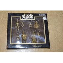Star Wars - Coleção De Chaveiros Metálicos Com Mosquetão