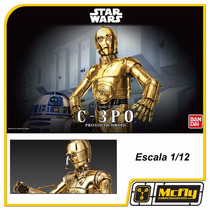 Star Wars C-3po Protocol Droid 1/12 Bandai Model Kit