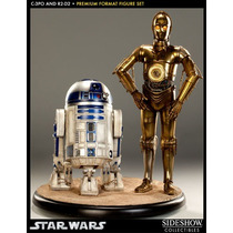 Sideshow C-3po And R2-d2 Premium Format