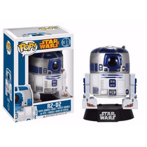 R2-d2 Robo Star Wars Boneco Funko Pop! Vinyl Bobble Head