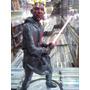 Darth Maul Star Wars Acende Luz Lindo Boneco Artesanal