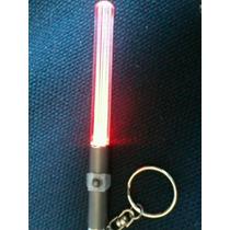 Chaveiro Luminoso Sabre De Luz Vermelho Star Wars Led
