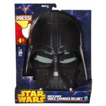 Máscara Darth Vader Eletrônica Hasbro Muda Voz Pronta Entreg