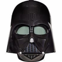 Máscara Eletrônica Da Hasbro Star Wars Darth Vader A3231