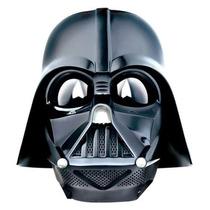 Máscara Eletrônica Darth Vader Star Wars Muda Voz Fantasia