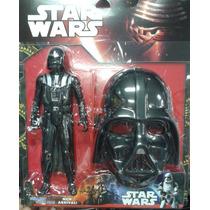 Boneco E Mascara Darth Vader Star Wars Lançamento Novo