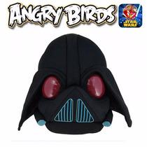 Pelúcia Angry Birds Edição Star Wars Origina Dtc Darth Vader