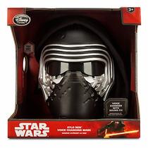 Mascara Eletronica Star Wars Kylo Ren Disney Store Lançament