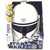 Máscara Capacete Clone Trooper Eletrônica - Star Wars Hasbro