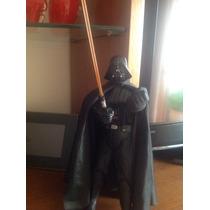 Darth Vader 30 Cm Com Sabre De Luz