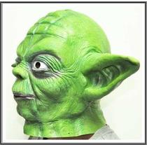 Máscara Mestre Yoda Adulto - Star Wars Pronta Entrega