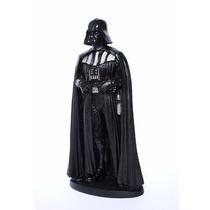 Estatueta Darth Vader + Chaveiro Mascara De Aço