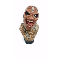 Busto Em Resina Eddie - Iron Maiden Piece Of Mind