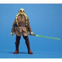 Star Wars Rots Kit Fisto Jedi Master Loose - Brinquetoys
