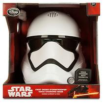 Star Wars: First Order Stormtrooper - Máscara Q Altera A Voz