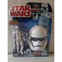 Star Wars Mascara E Boneco Eletronica Stormtrooper