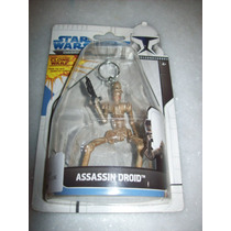 Chaveiro Star Wars - Clone Wars - Assassin Droid - Lacrado