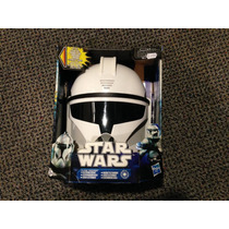 Capacete Mascara Eletronica Star Wars Clone Trooper