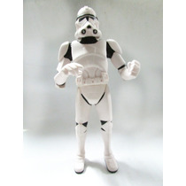 Cofre Boneco Miniatura Star Wars Clonetrooper Soldado Novo