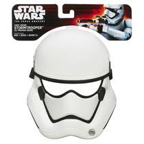 Máscara Star Wars Básica Ep Vii Stormtrooper Original Hasbro