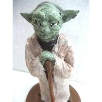 Mestre Yoda Star Wars Lindo Boneco Artesanal