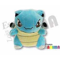 Pelúcia Blastoise Pokémon 16cm Pronta Entrega