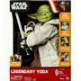 Star Wars Legendary Jedi Master Yoda Boneco Interativo