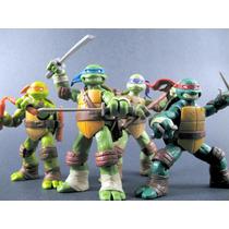 Tartarugas Ninja - Ninja Turtles - Set Com As 4 Figuras