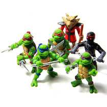 Kit 6 Bonecos - Tartarugas Ninjas