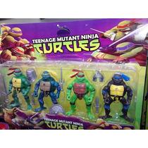 Tartarugas Ninjas - Kit Com 4 Bonecos - Pronta Entrega