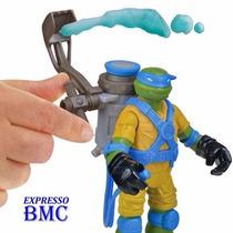 Tartarugas Ninja Leonardo Mutagen Ooze Launchin Leo De 12cm