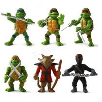 Tartarugas Ninja Kit C/ 6 Peças - Pronta Entrega