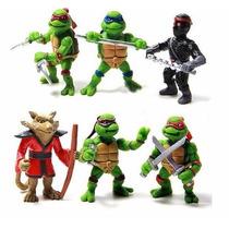 Miniaturas Tartarugas Ninjas - Colecao 6 Peças
