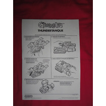 Manual Thundertanque Thundercats - Anos 80