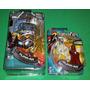 2 Bonecos Mumm-rá Duas Formas Thunder Cats Bandai Miniatura
