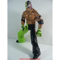 Wwe Rey Mysterio 30cm Frete Free Jakks Pacific 2008 Serie 1
