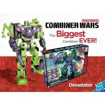 Transformers Devastator Combiners Wars Generation Hasbro