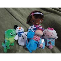 Doutora Brinquedos - Disney - Conjunto Com 06 Bonecos No Br