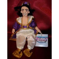 Aladim Pelúcia Nova Disney Aladdin Importada Rara Árabe