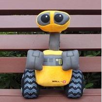 Wall-e Robô Pelúcia Original Pixar Estoque No Brasil Novo