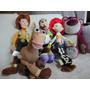 Toy Story Plush Fofo 5 Bonecos Grandes Turma Disney Original